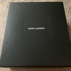 Saint Laurent Black Booties